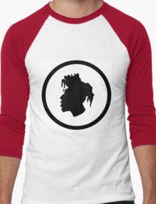 Black Head Logo Men's Baseball ¾ T-Shirt
