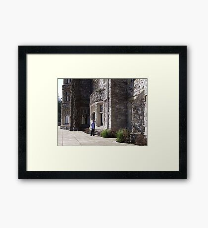 Looking Up Framed Print