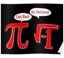 Pi Get Real Be Rational Poster