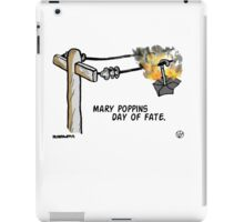 Mary Poppins Day of Fate. iPad Case/Skin