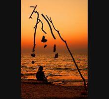 Chryssi island after sunset Unisex T-Shirt