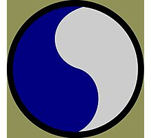 29th Infantry Division (United States) Photographic Print