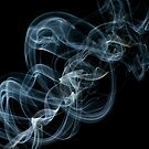 Incense Smoke Abstract by Martin Lačný
