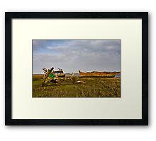 Wrecks Framed Print