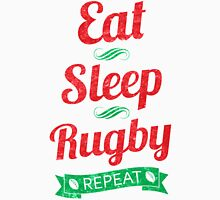 Eat, Sleep, Rugby, Repeat Unisex T-Shirt