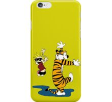 Calvin And Hobbes Dance iPhone Case/Skin