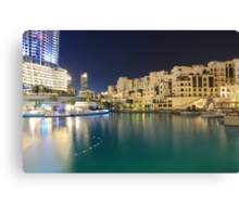Outside Dubai Mall Canvas Print