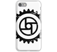 Gear-Transportation-Black iPhone Case/Skin