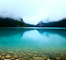 Clouds Lake Louise by Frank Bibbins