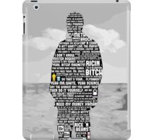 Jesse Pinkman Quotes iPad Case/Skin