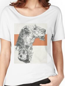 Airedale Terrier, Father & Son Women's Relaxed Fit T-Shirt