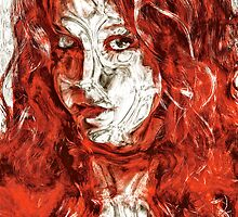 Red Interior by Gary Lande