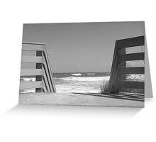 boardwalk? Greeting Card