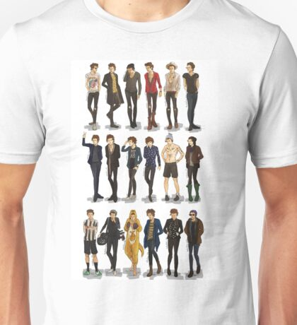 some fav clothes of H Unisex T-Shirt