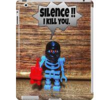 Silence , I kill you iPad Case/Skin