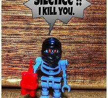 Silence , I kill you by lftgreen