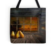 Twilight of the evening Tote Bag