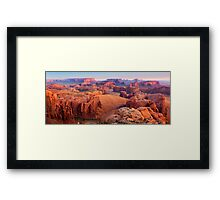 Hunt's Mesa Framed Print