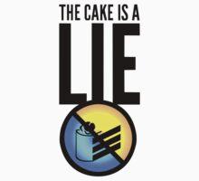 The Cake Is A Lie by JoshVII