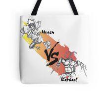 Mugen vs Raph Tote Bag