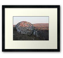 Sunset on the Burren  Framed Print