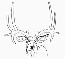 Deer One Piece - Short Sleeve