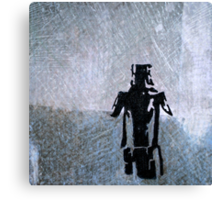 Ned Kelly was here.... Canvas Print