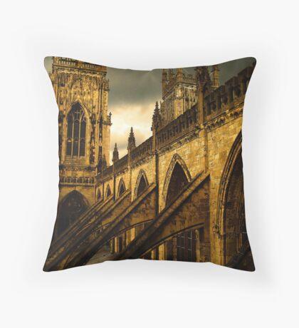 York Minster Throw Pillow