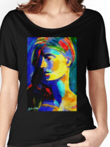 """""""Blazing in gold"""" Women's Relaxed Fit T-Shirt"""