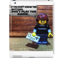 If you don't know the buttons iPad Case/Skin