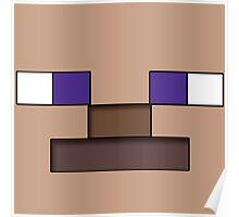 Minecraft - Steve Poster