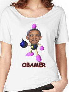 OBAMER Women's Relaxed Fit T-Shirt