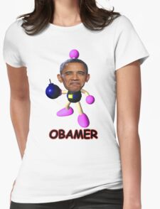 OBAMER Womens Fitted T-Shirt