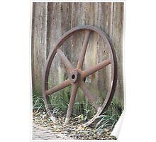 Antique Wheel Poster