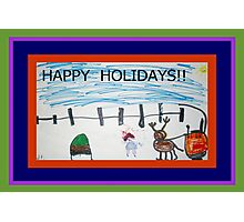 HAPPY HOLIDAYS FROM JOSELYN ROSE-2010 Photographic Print