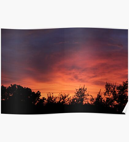 Corpus Sunset Poster