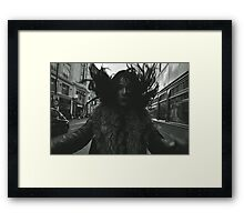 SELFIE DEMONS. (Oxford Street, London) Framed Print
