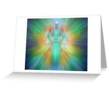 Angelic projection Greeting Card