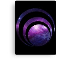 Galaxy spiral Canvas Print