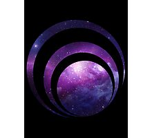Galaxy spiral Photographic Print