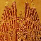 La Sagrada Familia by Nigel Fletcher-Jones