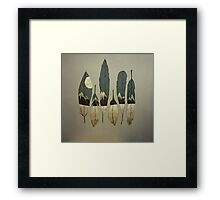 The Birds of Winter Framed Print
