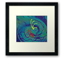 The urge of survival and proliferation Framed Print