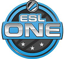 ESL One Logo Photographic Print