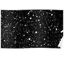 Snow Flakes Poster