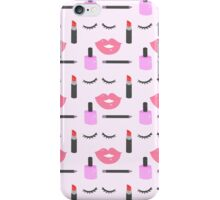 Makeup Pattern iPhone Case/Skin