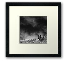 Guarding the Ridge Framed Print