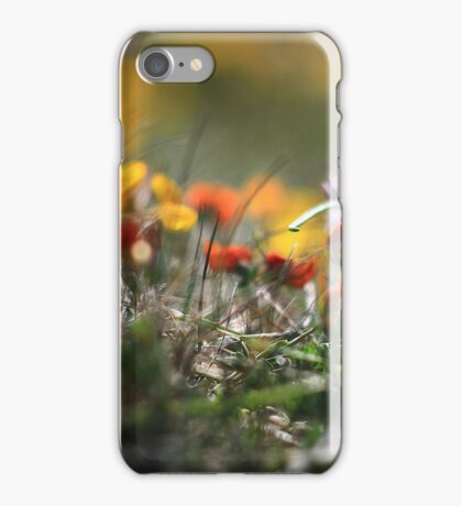 Helios Cliff Flowers -Vintage Russian Lens on Canon Eos iPhone Case/Skin