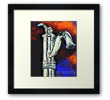 On Standby Framed Print