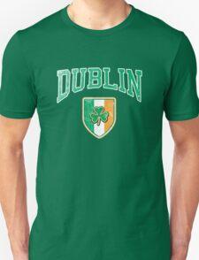 Dublin, Ireland with Shamrock T-Shirt